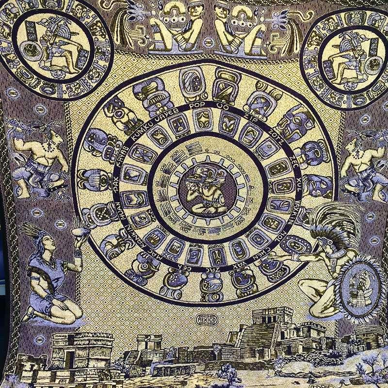Mayan backdrop